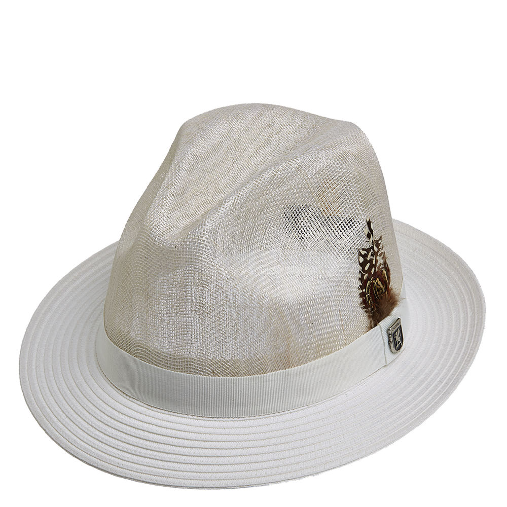 1960s Style Men's Hats Sinamay Fedora $41.95 AT vintagedancer.com