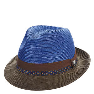 Stacy Adams Men's Two Tone Poly Braid Fedora