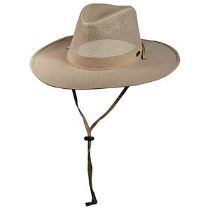 Stetson Outdoor Men's No Fly Zone Mesh Outback Hat