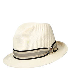 Tommy Bahama Men's Paper Braid Stripe Band Fedora