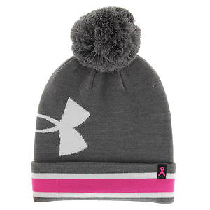 Under Armour Women's Pip Graphic Pom Beanie