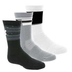 Under Armour Boys' 3-Pack Phenom Crew Socks