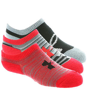 Under Armour Boys' 3-Pack Next 2.0 Solo Ankle Socks