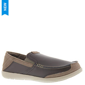 Crocs™ Walu Luxe Leather Loafer (Men's)
