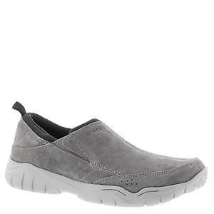 Crocs™ Swiftwater Leather Moc (Men's)
