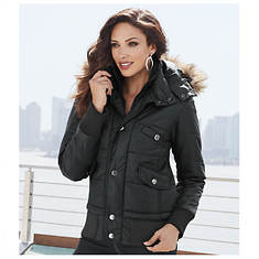 Bomber Puffer Jacket