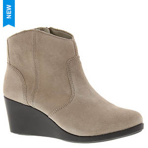 Crocs™ Leigh Suede Wedge Bootie (Women's)