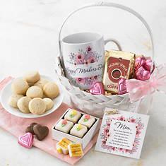 Mom's Coffee & Sweets Basket
