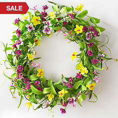 Spring Celebration Wreath
