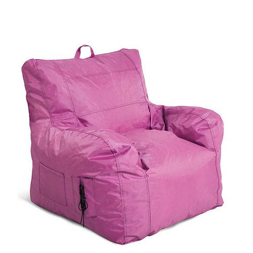 small bean bag chair with arms color out of stock stoneberry. Black Bedroom Furniture Sets. Home Design Ideas