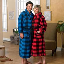 Buffalo Plaid Robe