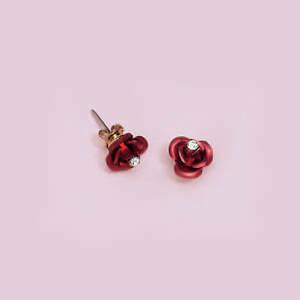 Heart of a Dozen Roses Earrings