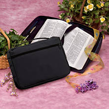 Personalized Black Bible Cover