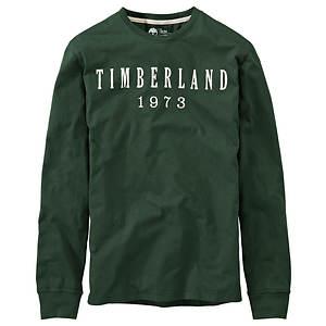 Timberland Men's Kennebec Linear Logo Tee
