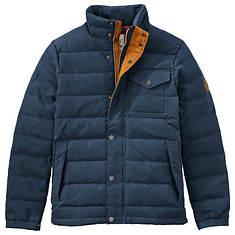Timberland Men's MT Davis Waxed Down Jacket