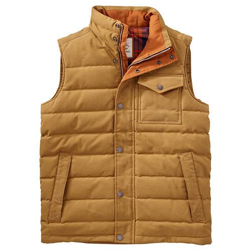 Timberland Men's MT Davis Waxed Down Vest