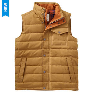 Timberland Men's MT Davis Waxed Down Vest