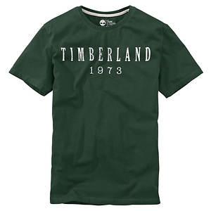 Timberland Men's SS Kennebec Linear Logo Tee