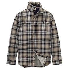 Timberland Men's Sherpa Lined Overshirt