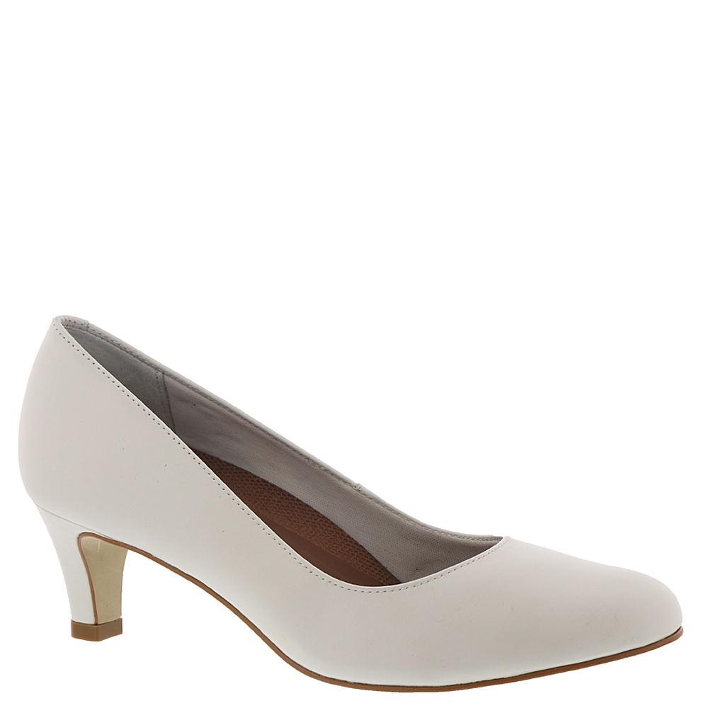 Saddle Shoes History- Women's and Men's Walking Cradles Joy Womens White Pump 8.5 M $99.95 AT vintagedancer.com