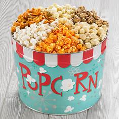 Nostalgic Popcorn Gift Tins - 6 Flavor Variety