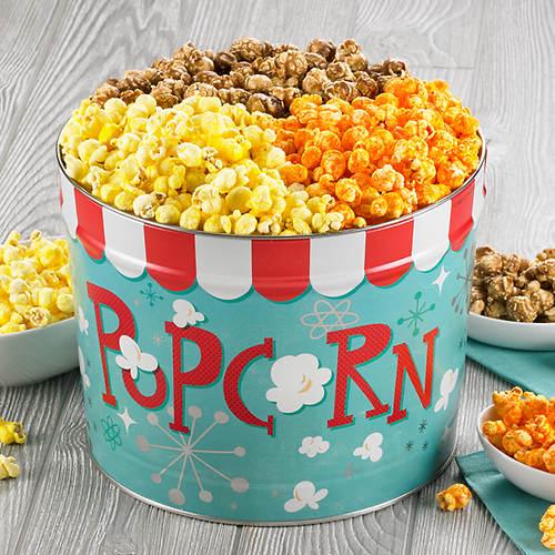 Nostalgic Popcorn Gift Tins