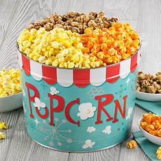 Nostalgic Popcorn Gift Tins - 3 Flavor Variety