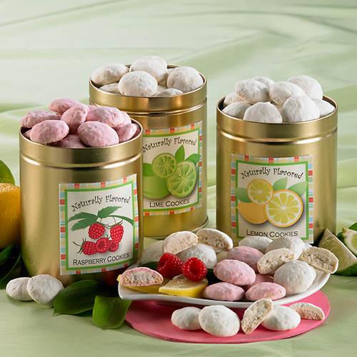 Fruitful Button Cookie Trio