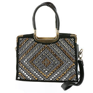 Diamond Glass Satchel