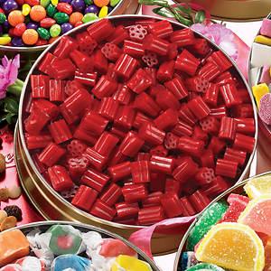 Sweet Cravings Snack Tins - Cherry Licorice Bites