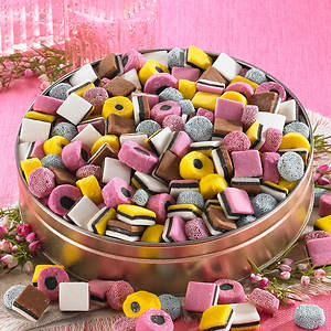 Sweet Cravings Snack Tins - Licorice Allsorts