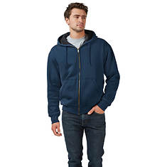 Men's Thermal-Lined Full-Zip Hoodie