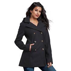 Hooded Pea Coat