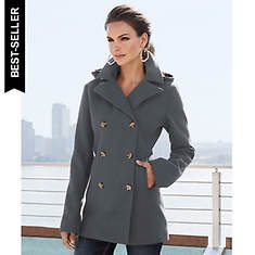 Hooded Pea Coat