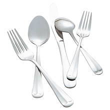 Hampton Forge Lexington 48-Piece Flatware Set