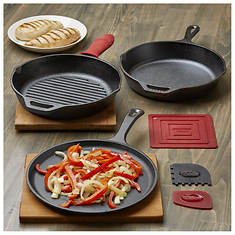 Lodge Essentials Cast Iron Cookware Set