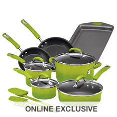 Rachael Ray 14-Pc. Cookware Set