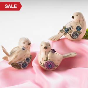 Simulated Birthstone Birdies - April