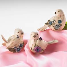 Simulated Birthstone Birdies - January