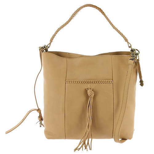 Lucky Brand Sydney Leather Crossbody Hobo Bag