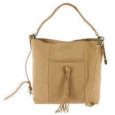 Lucky Brand Sydney Leather Crossbody Hobo Bag