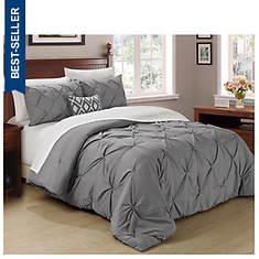 Pintuck Comforter Set
