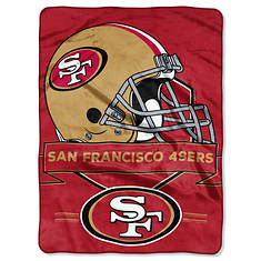 NFL Prestige Microfiber Throw by The Northwest Company