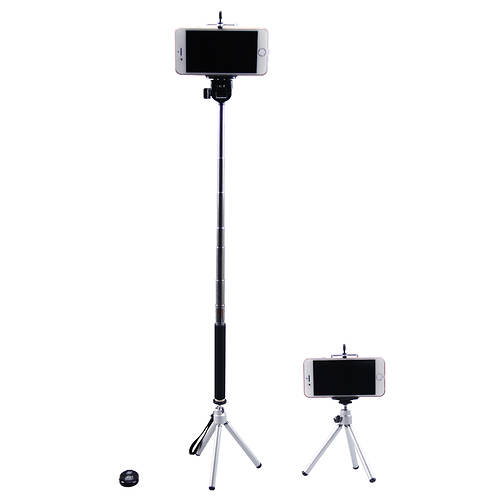 newlink selfie stick tripod combo out of stock stoneberry. Black Bedroom Furniture Sets. Home Design Ideas