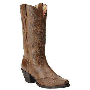Ariat Round Up D Toe Wingtip (Women's)