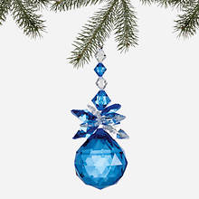 Simulated Birthstone Ornament - September