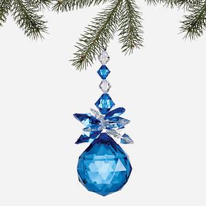 Simulated Birthstone Ornament - September