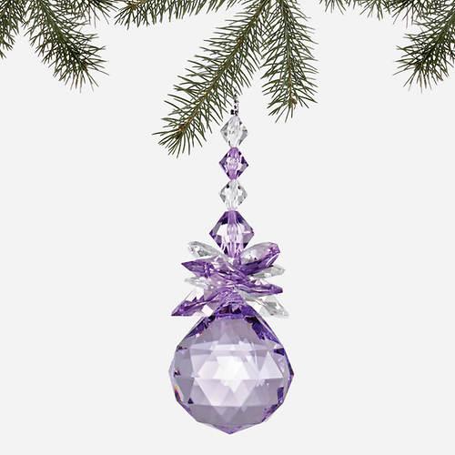 Simulated Birthstone Ornaments