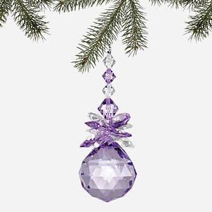 Simulated Birthstone Ornament - June
