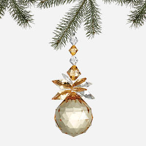 Simulated Birthstone Ornament - November